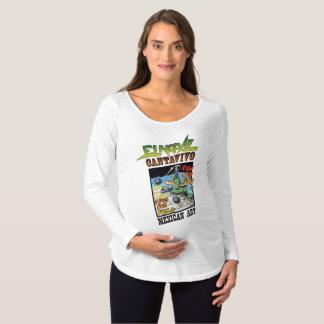 T-shirt van het Sleeve van het Moederschap van Gr