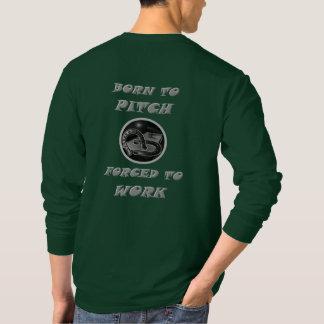 T-shirt van het Sleeve van hoeven de Fundamentele