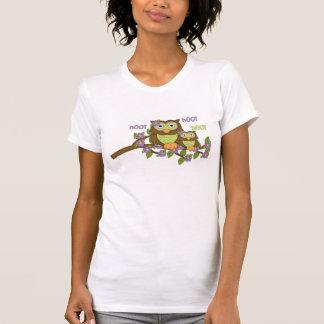 T-shirt van het Sleeve van Jersey van de Uil van