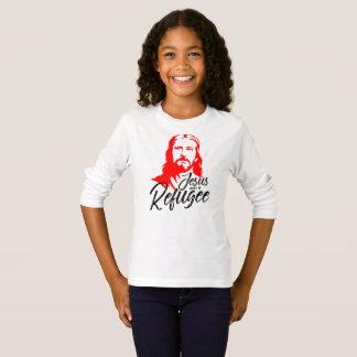 T-shirt van het Sleeve van Jesus Girl's de Lange