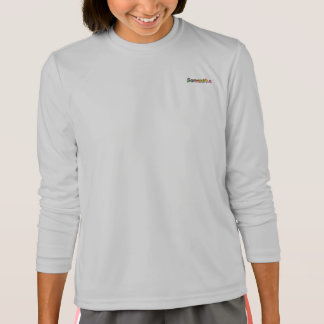 T-shirt van het Sleeve van sport-Tek van Samantha