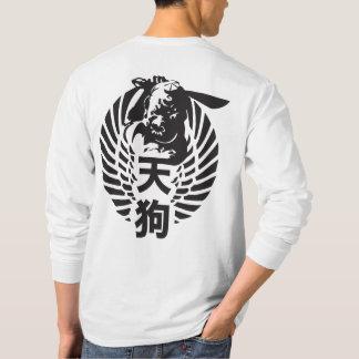 T-shirt van het Sleeve van Tengu de Lange