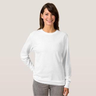 T-shirt van het Sleeve van vrouwen de Fundamentele