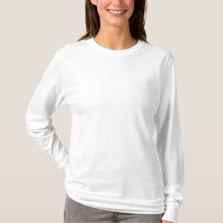T-shirt van het Sleeve van vrouwen de Geborduurde