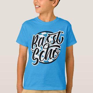T-shirt van het Spreuk van Scho van Basst de