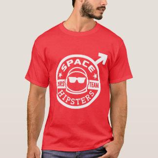 T-shirt van het Team van Hipsters® Mars van het