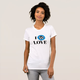 T-shirt van Jersey van de Kleding van WordPress de