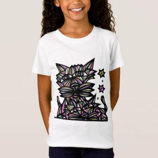 """T-shirt van Jersey van de Meisjes """"van de Dwazen"""