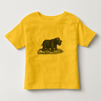 T-shirt van Jersey van de Peuter van het nijlpaard