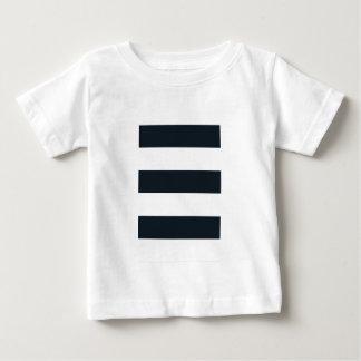 T-shirt van Jersey van het baby de Fijne: