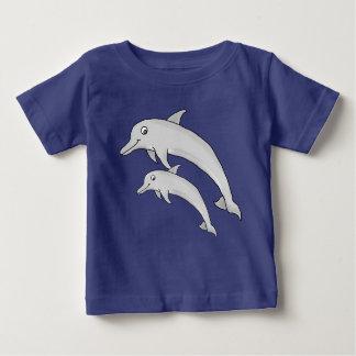 T-shirt van Jersey van het Baby van de dolfijn de