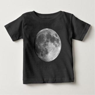T-shirt van Jersey van het Baby van de maan de