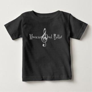 T-shirt van Jersey van het Baby van het duet (de