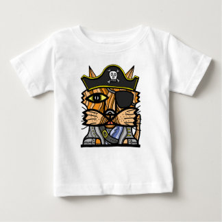 """T-shirt van Jersey van het Baby """"van Kat van de"""