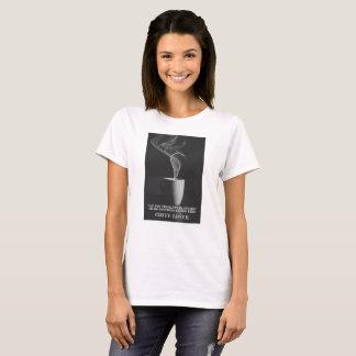 T-shirt van Nice van de Minnaar van de koffie de