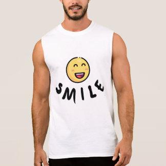T-shirt voor glimlach, gelukkige inspiratie,