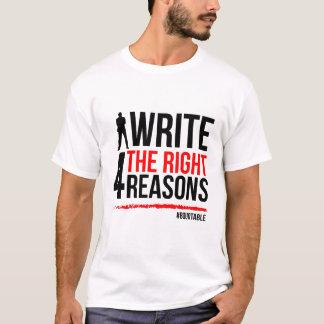 T-shirt voor Schrijvers