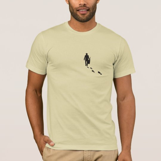 T-shirt - walking guitarist