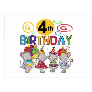 T-shirts en Giften van de Verjaardag van muizen de Briefkaart