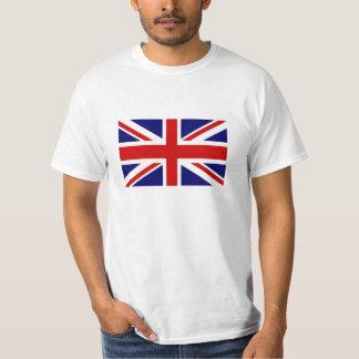 T-shirts met de Britse vlag van Union Jack