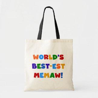 T-shirts van de Kleuren van Memaw van het Draagtas