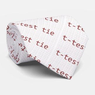 T-test stropdas voor statistici