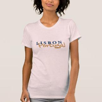 T van de Dames van Lissabon Portugal T Shirt