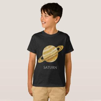 T van het Kind van de Waterverf van de Planeet van T Shirt
