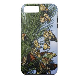 Taaie iPhone 7 van de Vlinders van de monarch plus iPhone 8/7 Plus Hoesje