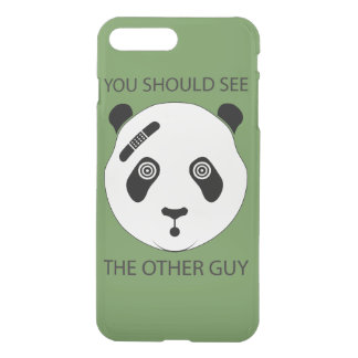 Taaie Panda iPhone 8/7 Plus Hoesje