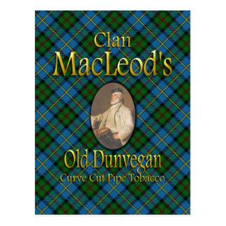Tabak van de Pijp Dunvegan van MacLeod van de clan Briefkaart