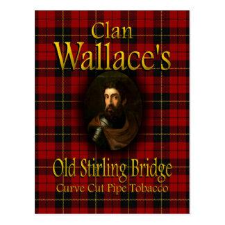 Tabak van de Pijp van de Brug Stirling van Wallace Briefkaart