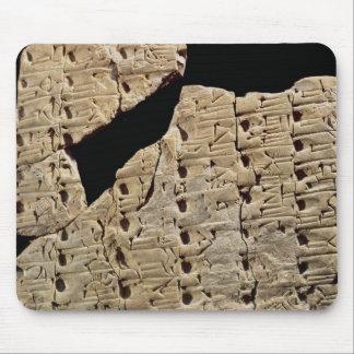 Tablet met spijkerschrift, van Uruk Muismatten
