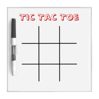 Tac van de tic Teen Whiteboard