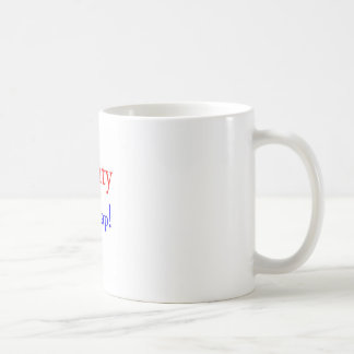 Tachtig… Crap! Koffiemok