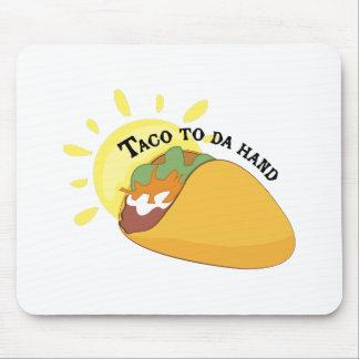 Taco aan de Hand van DA Muis Matten