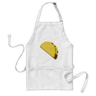 Taco Emoji Standaard Schort