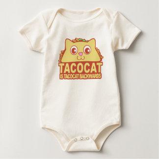 Tacocat achteruit II Baby Shirt