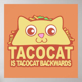 Tacocat achteruit II Poster