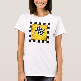 Tailgating Douane van de Vlag van de Ventilator T Shirt