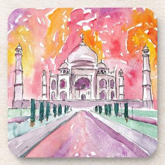 Taj Mahal India Drankjes Onderzetter