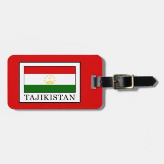 Tajikistan Bagagelabel