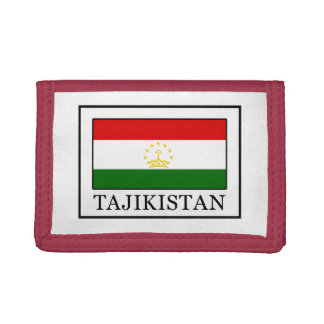 Tajikistan Drievoud Portemonnee