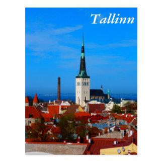 Tallinn, Estland Briefkaart