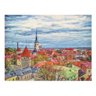 Tallinn Estland door Shawna MAC Briefkaart
