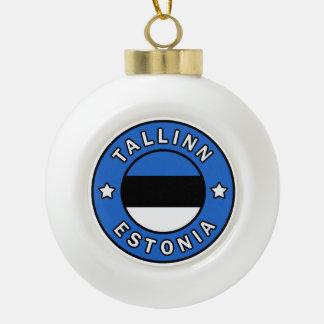 Tallinn Estland Keramische Bal Ornament