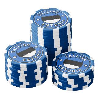 Tallinn Estland Pokerchips