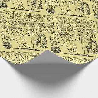 Tamale het Ontwerp van de Kunst van de Lijn van Inpakpapier