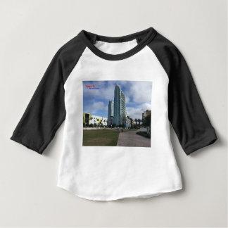 Tamper van de binnenstad, het Materiaal van FL! Baby T Shirts