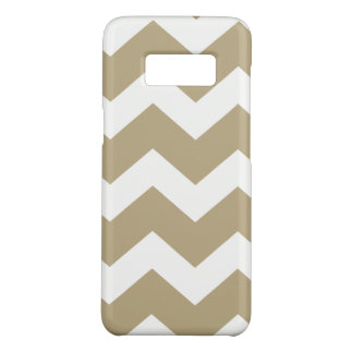 Tan Chevron Case-Mate Samsung Galaxy S8 Hoesje